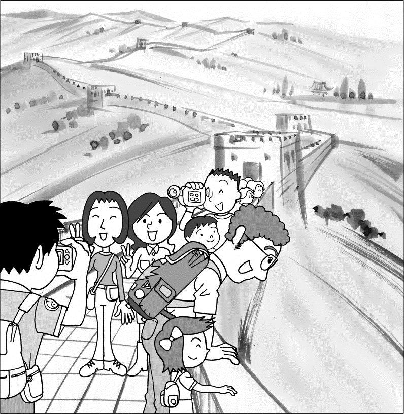 中国_万里の長城b01