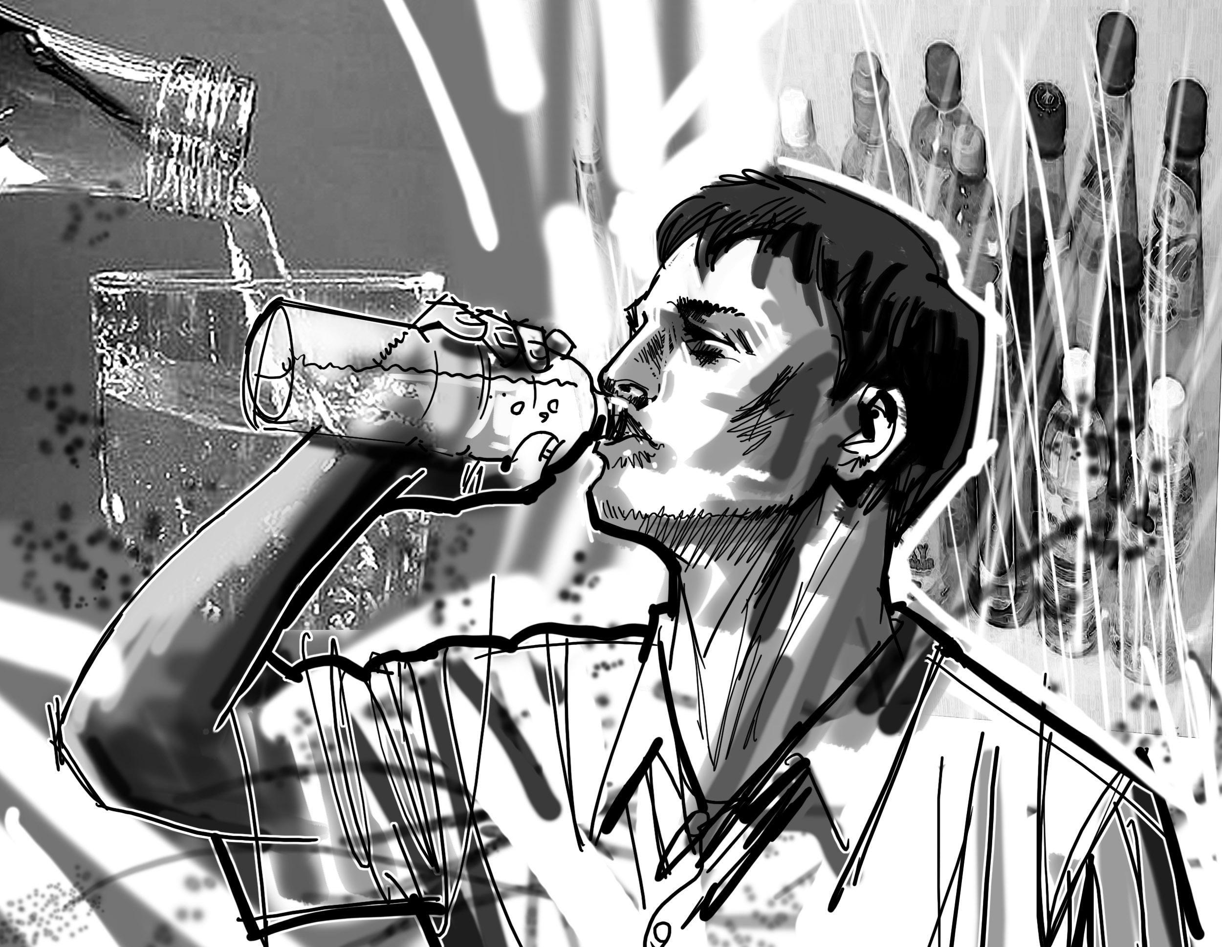 水分の過剰摂取